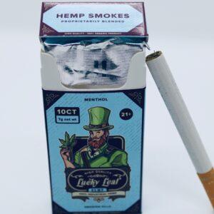 Lucky Leaf Hemp Smokes (Menthol)
